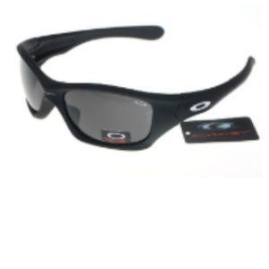 Cheap Oakley Pit Bull Sunglasses Grey Lens Black F
